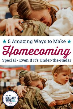 While the media primarily features high-profile homecomings, there are ways to make your service member's under-the-radar homecoming special, despite the absence of a large, cheering crowd. #militaryhomecoming #militaryhomecomingideas #militaryhomecomingtips #militaryhomecomingpictures via @lauren9098