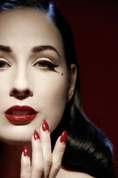 Dita's Garnet Lips and Retro Nails      http://sulia.com/channel/fashion/f/e6c238cd-716f-47e6-995c-b60bcac94b99/?source=pin&action=share&btn=small&form_factor=desktop&sharer_id=125430493&is_sharer_author=true&pinner=125430493