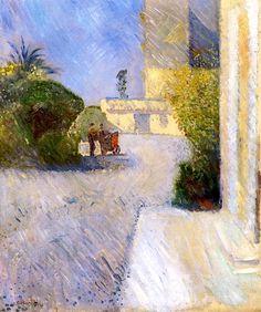 Edvard Munch, Sunny Day in Nice on ArtStack #edvard-munch #art