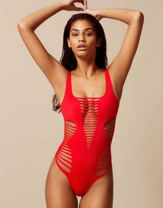 Dakotta Swimsuit Red by Agent Provocateur.