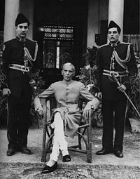 Muhammad Ali Jinnah, born Mahomedali Jinnahbhai; 25 December 1876 – 11 September 1948, was a lawyer, politician and statesman, who is known as the founder of Pakistan. Jinnah served as leader of the All-India Muslim League from 1913 until Pakistan's independence on 14 August 1947, and as Pakistan's first Governor-General from independence until his death.