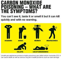 Gas leaks in your home can cause carbon monoxide poisoning. Know the symptoms! If you suspect a leak, call a qualified contractor immediately. Questions? Call Fahrenheit Mechanical Systems TODAY! 615-371-8887 fahrenheit-hvac.com