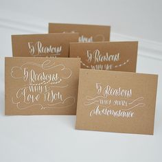 I Still Love You by Melissa Esplin: Calligraphy: Hand-lettered Card Giveaway