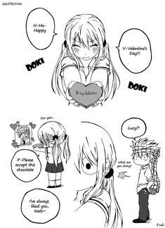 Valentine by AyuMichi-me.deviantart.com on @DeviantArt.....Well, this is awkward