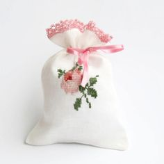 Pink Rose Lavender Sachet  For Multiply Purposes by WISHsupplies, €6.50