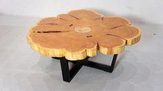fir slab coffee table