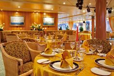 Deck 12: II Magnifico Club Restaurant (87 seats) - chargeable Costa Victoria, Table Settings, Deck, Restaurant, Club, Front Porches, Diner Restaurant, Place Settings, Restaurants