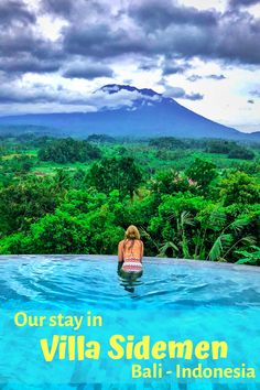 If you're looking for a perfect stay in Bali, Villa Sidemen is the place for you! Enjoy the wonderful volcano views from your private infinity pool overlooking the jungle. Or have a relaxing bath in your hot tub. The choice is all yours...