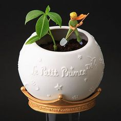 The little Prince Little Prince Quotes, Little Prince Party, The Little Prince, The Petit Prince, Prince Nursery, Diy Art, 3d Printing, Diy And Crafts, Planter Pots