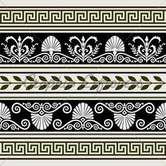 Greek patterns greek idea's  -patterns