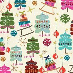 Christmas wrapping paper | caroline gardner