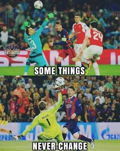 Messi and chip goals