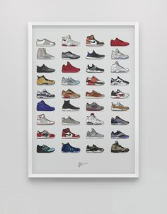 Image of ★ NEW ★ <br>2015 Edition - Assorted Sneaker Print<br>