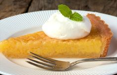 """Lemon Chess Tart - Amazing """"Old-Fashioned"""" flavor. This updated version of a wonderful """"generational"""" family recipe is simply delicious."""