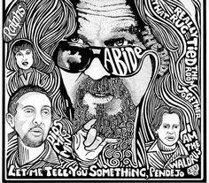 The Big Lebowski  Jeff Bridges Pen & Ink Art by Posterography, $29.95