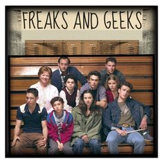 """""""Cult Status: Freaks And Geeks"""" by s246 ❤ liked on Polyvore featuring art"""