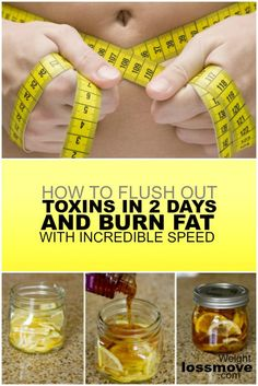 How To Flush Out Toxins In 2 Days and Burn Fat With Incredible Speed - Weight Loss Move