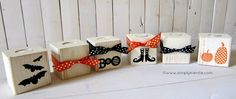 4x4 luminaries.  Cute for front porch or to decorate a table.  You could make these for any holiday.  *Maybe a Super Saturday