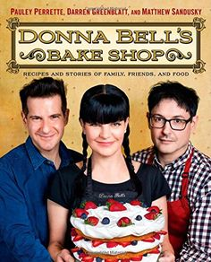 Donna Bell's Bake Shop: Recipes and Stories of Family, Friends, and Food by Pauley Perrette http://www.amazon.com/dp/147677112X/ref=cm_sw_r_pi_dp_WvJ2vb0XZCVH6