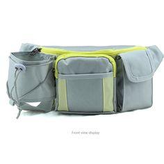 Sports Waist Pack Water Bottle Bag For Hiking Climbing