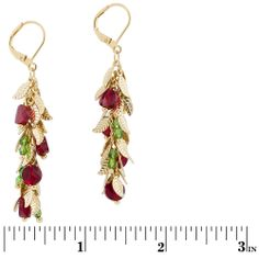 Holly Holidays Earrings | Fusion Beads Inspiration Gallery