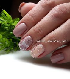 🌸🌸🌸 для @ksusha_krivshich #нежныйманикюр #нежныйдизайнногтей #светлыйманикюр #бежевыйманикюр #кофейныйманикюр #инстаманикюр… New Nail Art Design, Best Nail Art Designs, Pedicure Nails, Gel Nails, Fire Nails, Nailart, Acrylic Nail Art, Prom Nails, Stylish Nails
