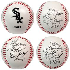 2013 Team Roster Signature Ball - Chicago White Sox