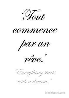Tout commence par un rêve ! - #commence #par #rêve #Tout