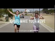 Girls Make Your Move 45 Second Television Commercial - YouTube
