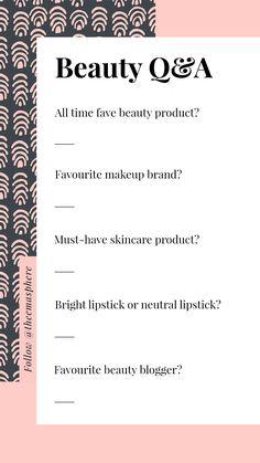 Instagram Story Beauty QA