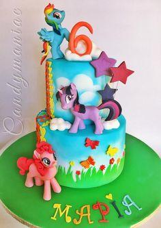 My little pony cake - Cake by Mania M. - CandymaniaC
