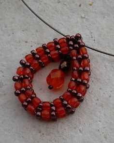 Pattern bijoux: Tubolar Raw a goccia