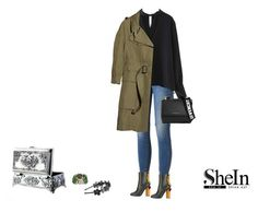 """""""shein style"""" by cutepo ❤ liked on Polyvore featuring SONOMA Goods for Life, Givenchy, Marco de Vincenzo, Cara Accessories and Burberry"""