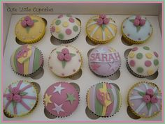 Space Themed Cupcakes | Cath Kidston Themed Cupcakes | Flickr - Photo Sharing!