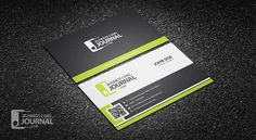 Free professional vertical qr code business card template more at free stylish corporate business card template with qr code more at designresources colourmoves
