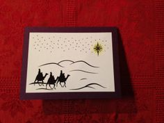 The Three Wise Men Christmas Card   Set of by designedbyelisabeth, $20.00