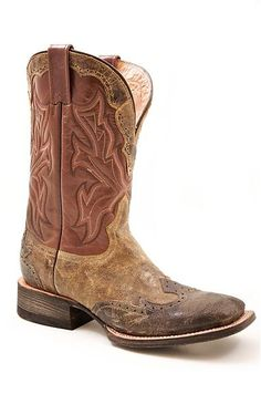 9ca4255538b Mens Stetson 3 Tone Boot Cowboy Outfits