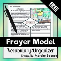 Models synonyms and antonyms and graphic organizers on for Synonym modell
