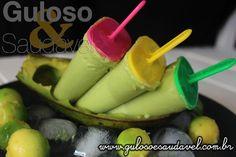Este Picolé Cremoso de Abacate é caseiro, nutritivo e bem saboroso para suportar o calor que vem fazendo.  #Receita aqui: http://www.gulosoesaudavel.com.br/2017/01/31/picole-cremoso-de-abacate/