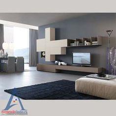 soggiorno moderno con parete attrezzata | FURNITURE | Pinterest | Tv ...