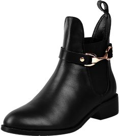 ELEHOT Womens Elegun 3.5CM low-heel Boots * This is an Amazon Affiliate link. Want to know more, click on the image.