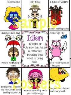 IDIOM POSTERS PACK$