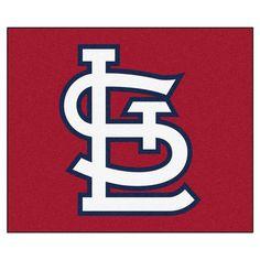 St. Louis Cardinals Alt Logo 5' X 6' Tailgater Area Rug Floor Mat