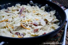 Mommy's Kitchen - Old Fashioned & Country Style Cooking: Chicken, Bacon Ranch Pasta {My New Go To Pasta Recipe}