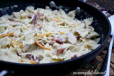 Mommys Kitchen: Chicken, Bacon Ranch Pasta {My New Go To Pasta Recipe}
