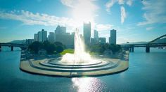 Pittsburgh, Pennsylvania the fountain and entire area are beautiful and a great walk!