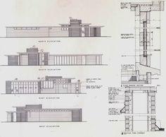 Historia de la Arquitectura Moderna: Casa Jacobs 1 - Frank Lloyd Wright