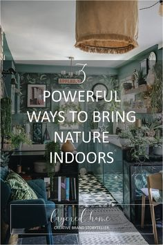 3-powerful-ways-to-bring-nature-indoors-smellacloud-diffuser-essential-oi How To Hang Wallpaper, Wood Wallpaper, Wallpaper Ideas, Blue Green Kitchen, Dark Green Living Room, Vinyl Rug, Cabins In The Woods, Nature Inspired, Teal Blue