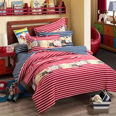 The Story Of Affo Red Teen Bedding College Dorm Bedding Kids Bedding
