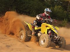 Suzuki manufactures legendary motorcycles such as the GSX-R, championship winning RM-Z motocross bikes, agile scooters, and revolutionary ATVs. Motocross Bikes, November 17, Atv, Roads, Monster Trucks, Motorcycle, Vehicles, Photos, Pictures